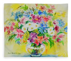 Watercolor Series 188 Fleece Blanket