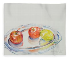Watercolor Series 191 Fleece Blanket