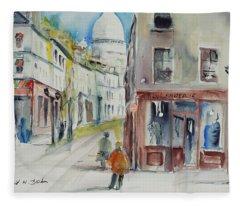 Watercolor Series 192 Fleece Blanket