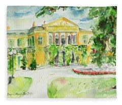 Watercolor Series 195 Fleece Blanket