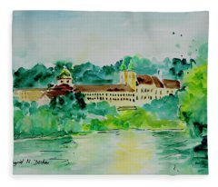 Watercolor Series 196 Fleece Blanket