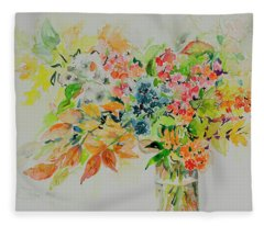 Watercolor Series 198 Fleece Blanket