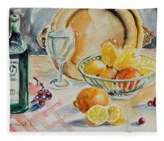 Watercolor Series 199 Fleece Blanket