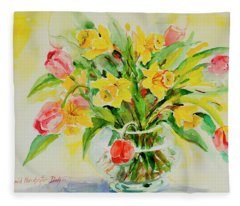 Watercolor Series 201 Fleece Blanket