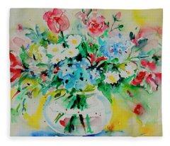 Watercolor Series 204 Fleece Blanket