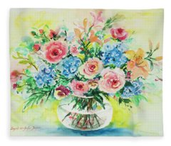 Watercolor Series 205 Fleece Blanket