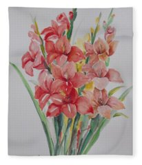 Watercolor Series 207 Fleece Blanket