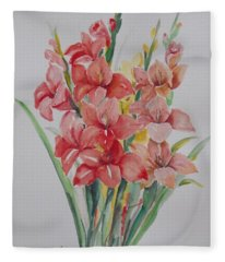 Watercolor Series 207 Fleece Blanket