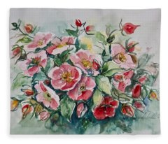 Watercolor Series 208 Fleece Blanket