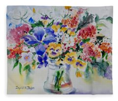 Watercolor Series 209 Fleece Blanket