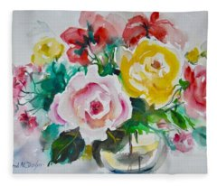 Watercolor Series 210 Fleece Blanket