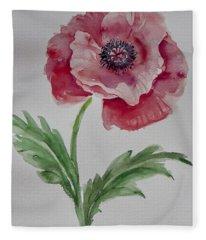 Watercolor Series 211 Fleece Blanket
