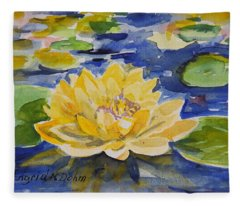 Watercolor Series No. 213 Fleece Blanket