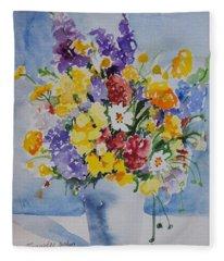 Watercolor Series No. 215 Fleece Blanket