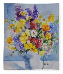 Watercolor Series No. 215 Fleece Blanket