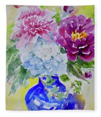 Watercolor Series No. 217 Fleece Blanket