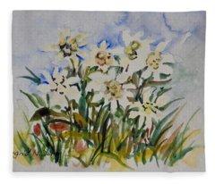 Watercolor Series No. 218 Fleece Blanket