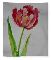 Watercolor Series No.  228 Fleece Blanket