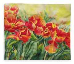 Watercolor Series No. 241 Fleece Blanket