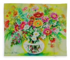 Watercolor Seris 184 Fleece Blanket