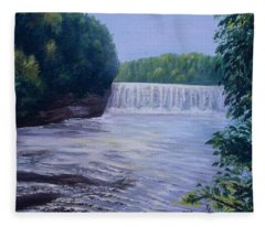 Waterfall Fleece Blanket