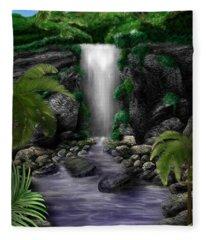 Waterfall Creek Fleece Blanket