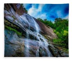 Chimney Rock Fleece Blanket