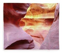 Waterholes Canyon 15 Fleece Blanket