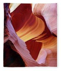 Waterholes Canyon 22 Fleece Blanket