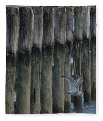 Waterlines Fleece Blanket