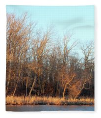 Waters Edge 2 Fleece Blanket