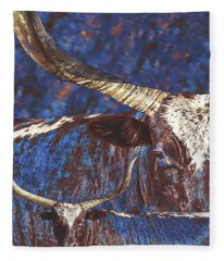 Watusi Blues Fleece Blanket