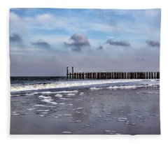 Wave Breakers Fleece Blanket