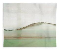 Wave Fleece Blanket