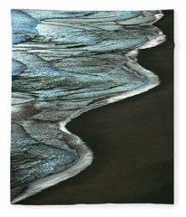 Waves Of The Future Fleece Blanket