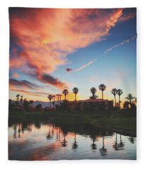 We All Want Something Beautiful Fleece Blanket