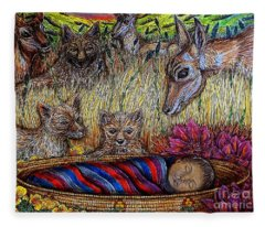 We Can Lay Down Together Fleece Blanket
