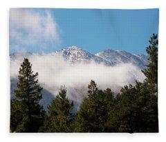 Weather On Top Fleece Blanket