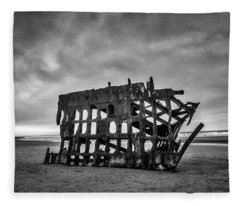 Peter Iredale Fleece Blankets