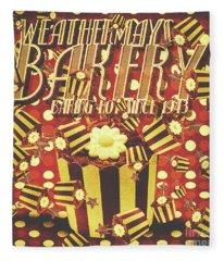 Weathermays Bakery 1943 Fleece Blanket