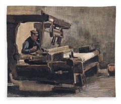 Weaver Nuenen, December 1883 - August 1884 Vincent Van Gogh 1853 - 1890 2 Fleece Blanket