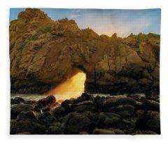 Wedge Of Light Fleece Blanket