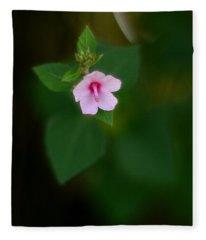Weed Flower 907 Fleece Blanket