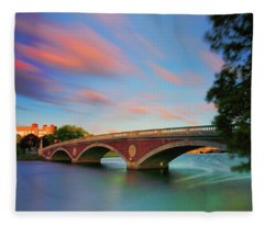 Weeks' Bridge Fleece Blanket