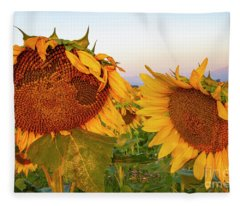 Welcoming The Morning Fleece Blanket