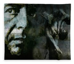 Well , I've Heard There Is A Secret Chord Fleece Blanket