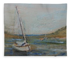 Wellfleet Beached Fleece Blanket