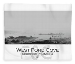 West Pond Cove Fleece Blanket