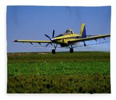 West Texas Air Force 2 Fleece Blanket