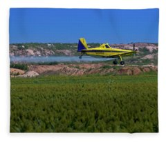 West Texas Airforce Fleece Blanket